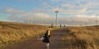 Besucher Whitelee windfarm, Foto: Phyllis Buchanan auf flickr