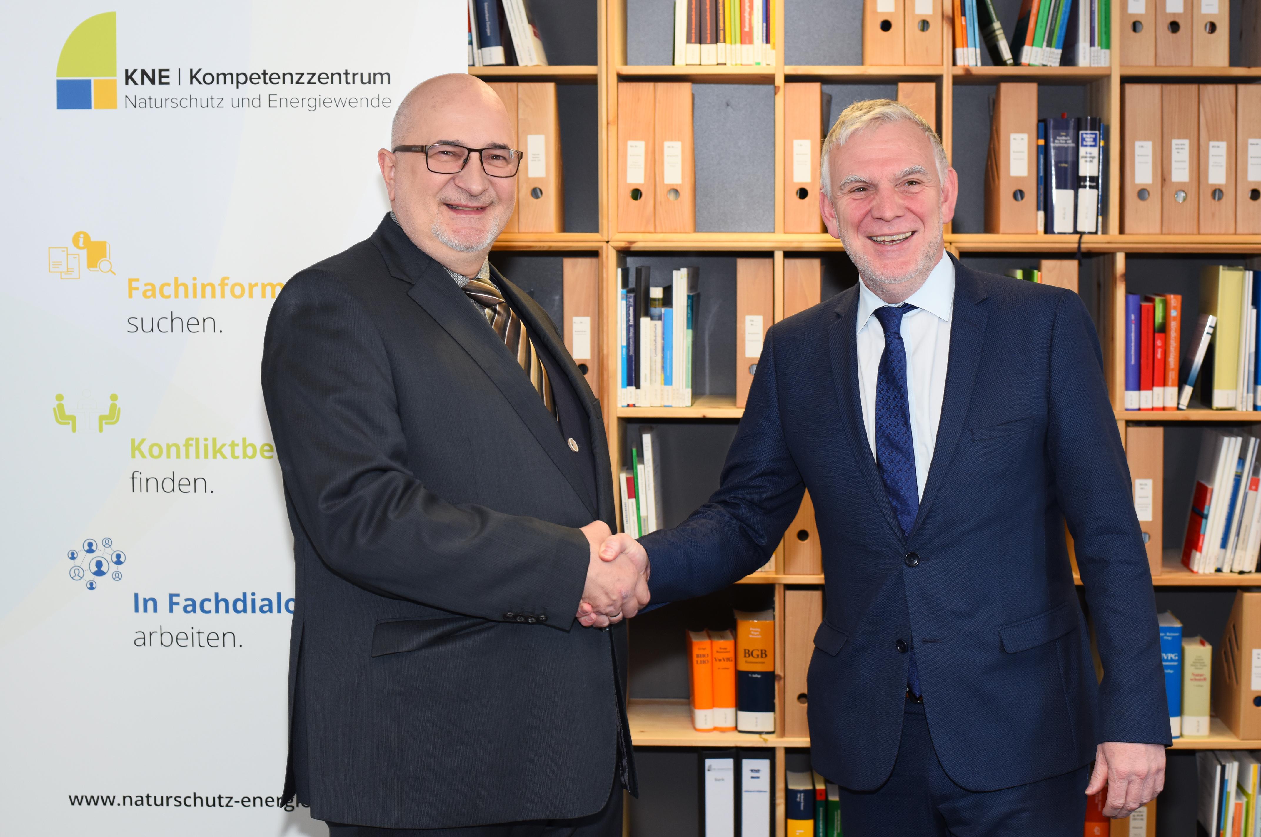 Staatssekretär Jochen Flasbarth (BMUB) zu Besuch im KNE