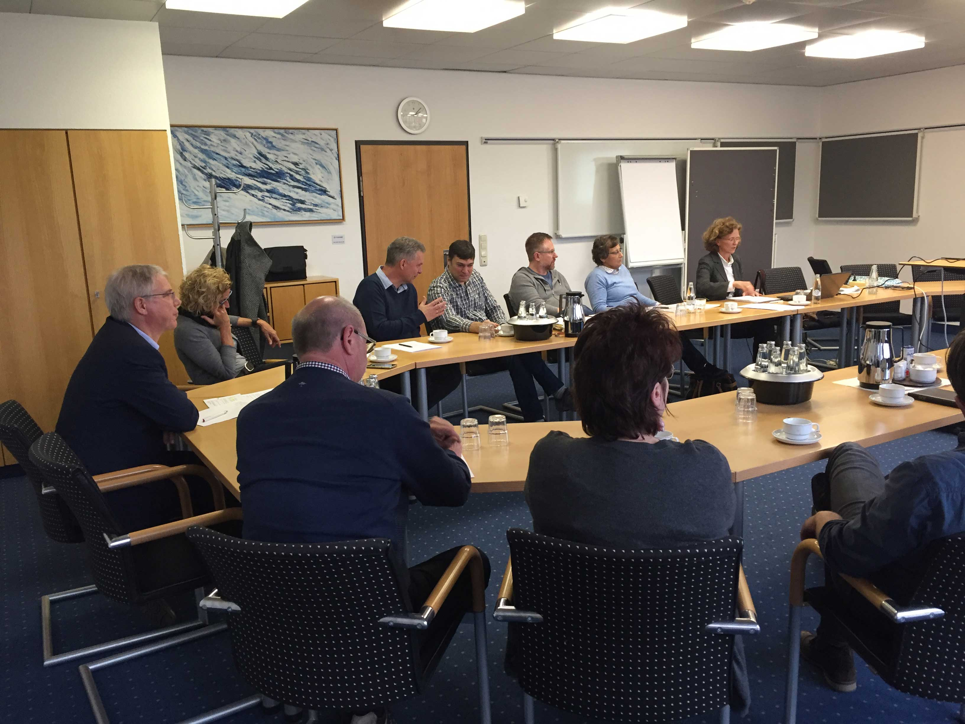 Diskussionsrunde im Umweltamt Kreis Düren