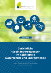 Naturschutz in der Energiewende – welche Konflikte landen vor Gericht?