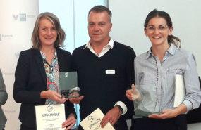 Gruppenbild Gewinner Preis für Innovation im Bereich Mediation und Konfliktmanagement