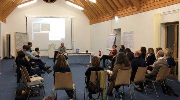 Teilnehmer des 4. Fachforums des KNE-Mediatorenpools