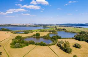 Aussicht auf den Uckersee und die Landschaft der Uckermark-Foto: Tilo Grellmann, adobe.stock-Uckermarck-Tilo-Grellmann