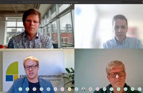Teilnehmer der Videokonferenz 5. Fachforum Mediatorenpool, April 2020
