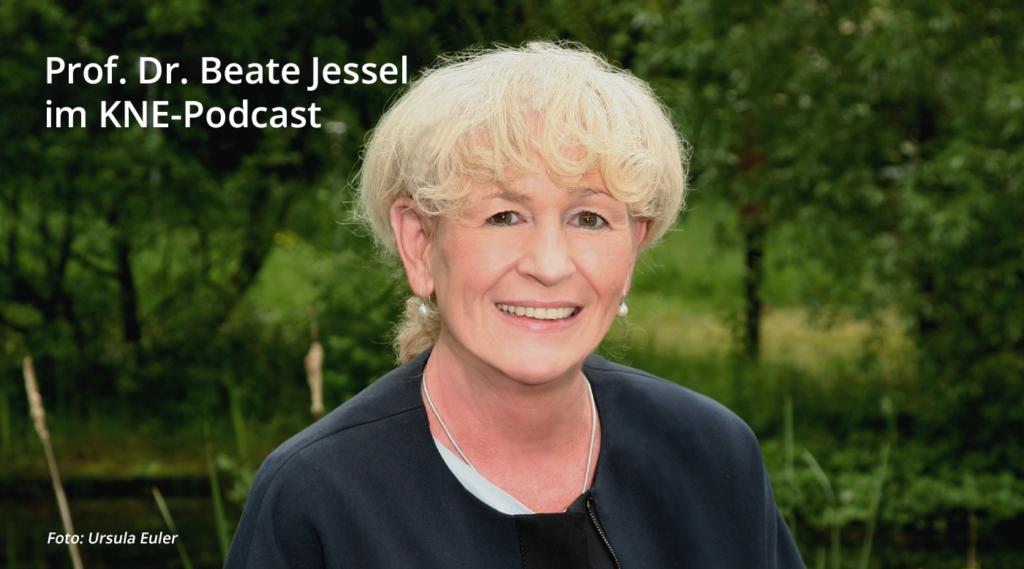 Portraitfoto: Prof. Beate-Jessel im KNE-Podcast, Foto: Ursula Euler