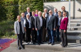 Gruppenbild der KNE-Beiratssitzung, 11. September 2019, Berlin
