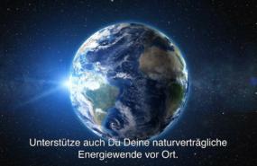 Planet Erde - Bildausschnitt aus KNE-Video