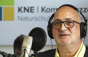 Dr. Torsten Raynal-Ehrke, KNE-Direktor bei der Podcast-Aufnahme.