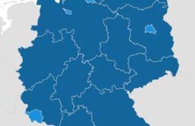 Konfliktlösung Deutschlandkarte