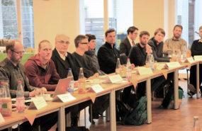 Teilnehmer des KNE-KNE-Fachgespräches zu  Artenhilfsprogrammen und Ausnahmeerteilung