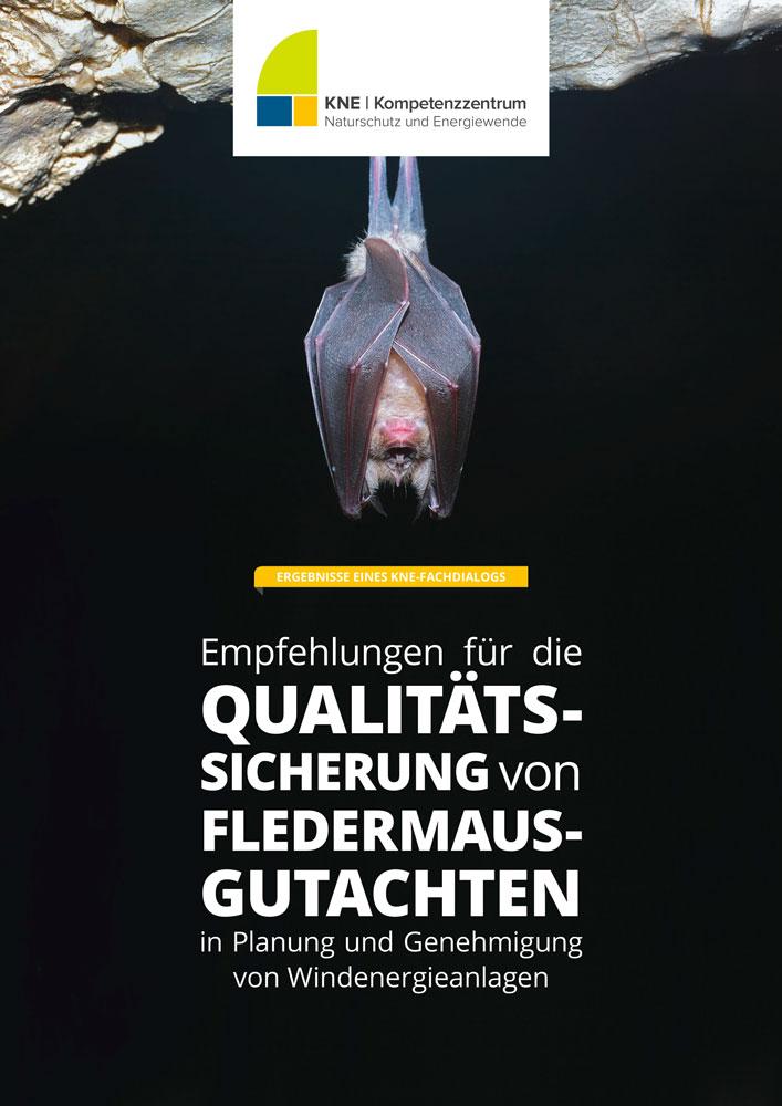 Titelbild der Publikation Qualitätssicherung von Fledermausgutachen.