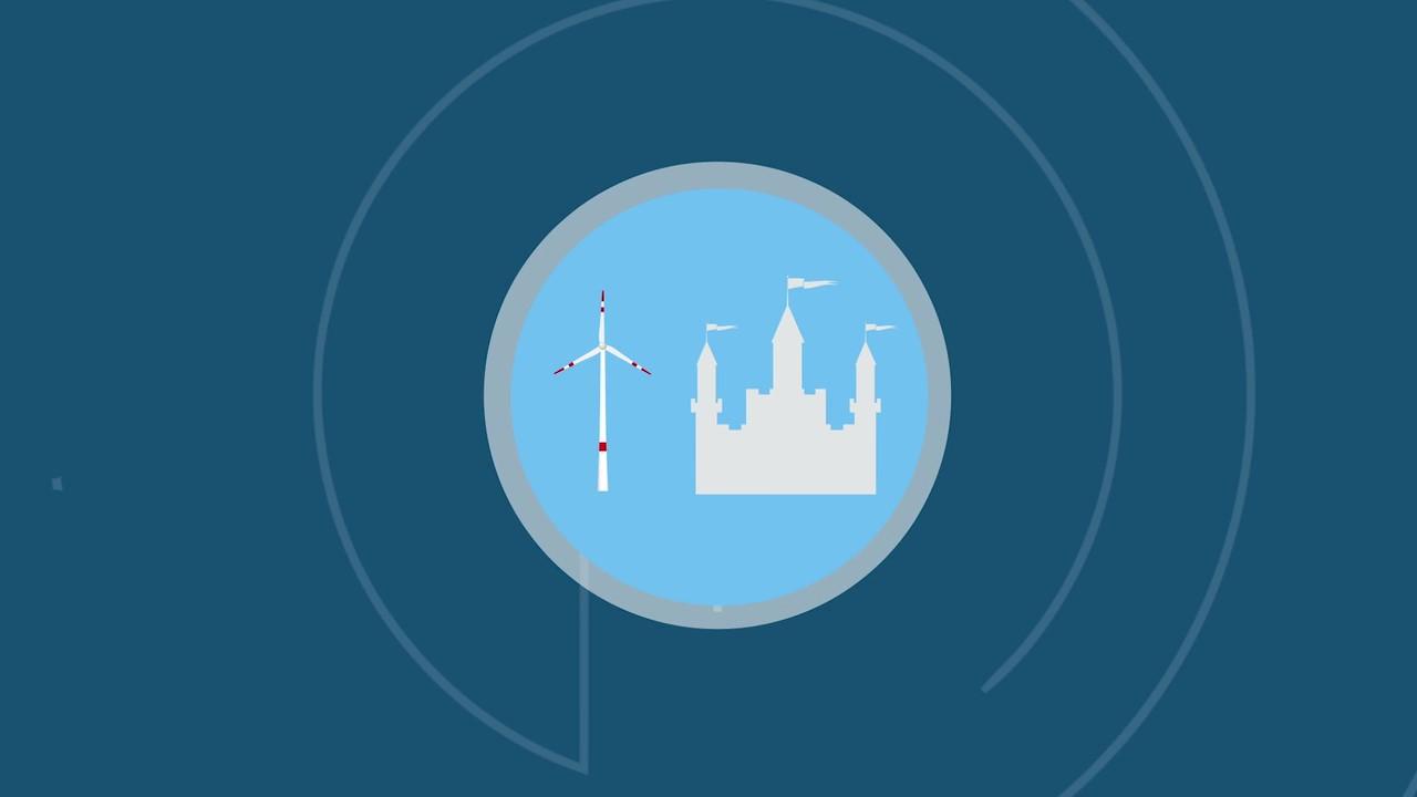 Screenshot aus Video Vereinbarkeit von Windenergieausbau und UNESCO-Welterbestätten