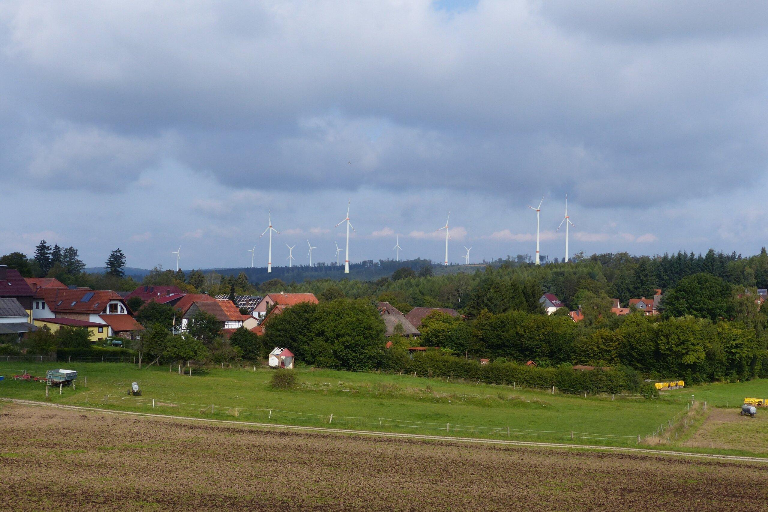 Visualisierung vorab von Windenergieanlagen- Copyright Ramboll Deutschland Gmbh