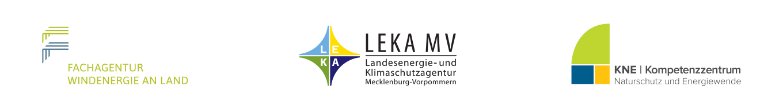 Logos FA Wind, LEKA MV , KNE