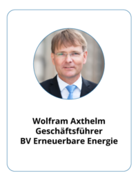 Profilbild Wolfram Axthelm, BEE, Copyright S. Reents